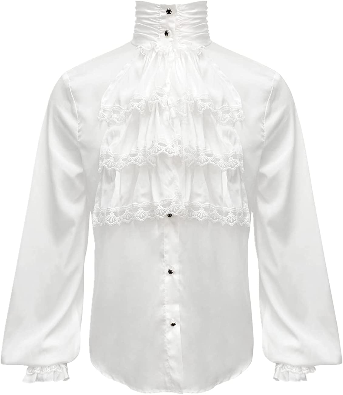 Apocrypha Mens Pirate Shirt Surprise price Victorian Tampa Mall Vampire Renaissance Mediev
