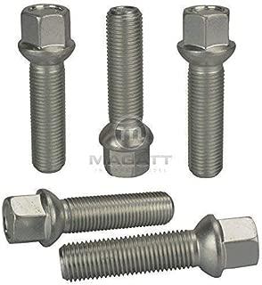 10 cromo tornillos perno de rueda m12 1,5 28 cono 60 ° kegelbund sw17 llantas de aluminio