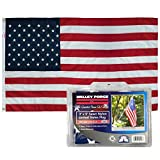 Valley Forge USPN-1 American Flag, 3'x5' Grommeted, Multi color