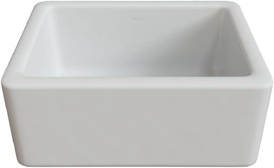 Regular discount LaToscana LNR2418W LTW2418W 24-in Sink Fireclay Atlanta Mall