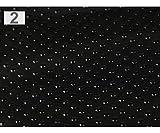 1m Schwarzen Anti-Rutsch-Gewebe Vinyl Non Skid Dots