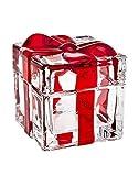 Godinger Silver Art Red Striped Box 3.4 X 3.5 by Godinger