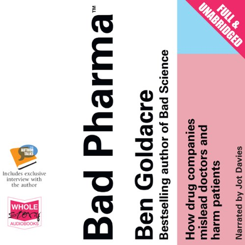Couverture de Bad Pharma