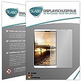 Slabo 2 x Bildschirmschutzfolie Huawei MediaPad M2 Bildschirmschutz Schutzfolie Folie No Reflexion|Keine Reflektion MATT - Entspiegelnd Made IN Germany