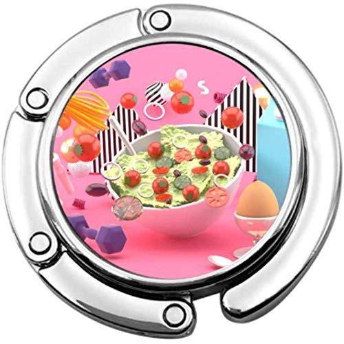 Handtas Haak Salades Melk Eieren Dumbbell Oefening Touwen Vouwen Handtas Tafel Hanger-Bag Hanger Collection-Bureau Haken