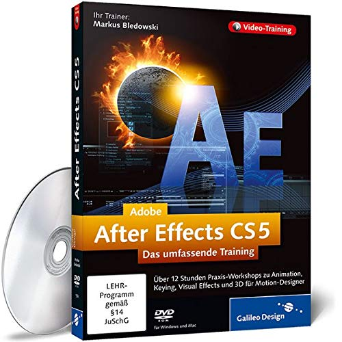 Adobe After Effects CS5: Das umfassende Training [import allemand]
