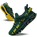 JSLEAP Sneakers Men Fashion Casual Monochrome...