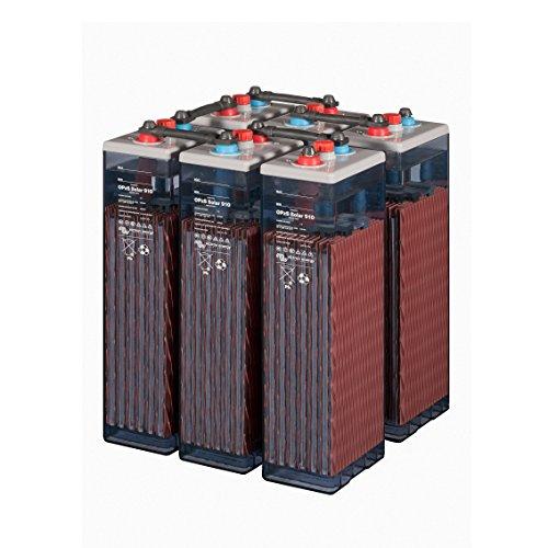 Batterie Solar Photovoltaik Tab 4OPzS 200–300Ah 2V Leben Spezial 20Jahre (6Piece 12V)