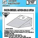 Tecnhogar - Caja 5 Bol. Asp.Ufesa Mt-502