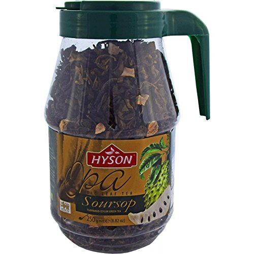 HYSON TEE Grüner loser Tee mit ANODA OPA Sour Sup Ceylon Tea (Anoda Grüner Tee 250g.)
