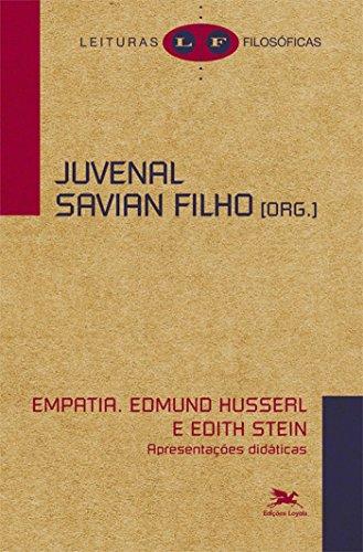 Empatia - Edmund Husserl e Edith Stein - Apresentações didáticas