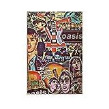 Oasis 7 Wandposter, klassische Rockmusik-Legende,