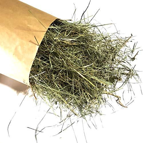Jumbogras® Bio-Naturstreu, 1 kg, für Kleintiere: Intensiv duftende Feuchtwiesen-Streu als natürliche Käfig/Stall-Einstreu und Futter vom Naturschutzgebiet Irrsee-Moor in Österreich