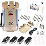 WAFU Smart Lock HF-008 habilitado y cerradura inteligente sin llave con cerradura de pantalla táctil con alarma incorporada