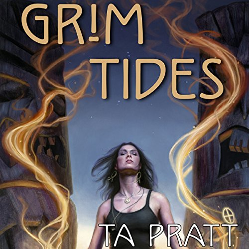 Grim Tides audiobook cover art