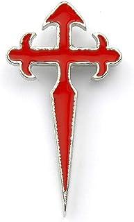 Spilla / adesivo croce dei pellegrini