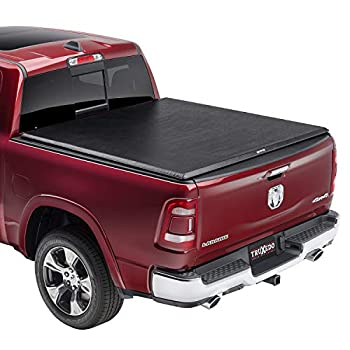 "TruXedo 246901 TruXport Soft Roll-Up Dual Latch 6Ft 4"" Tonneau Cover"