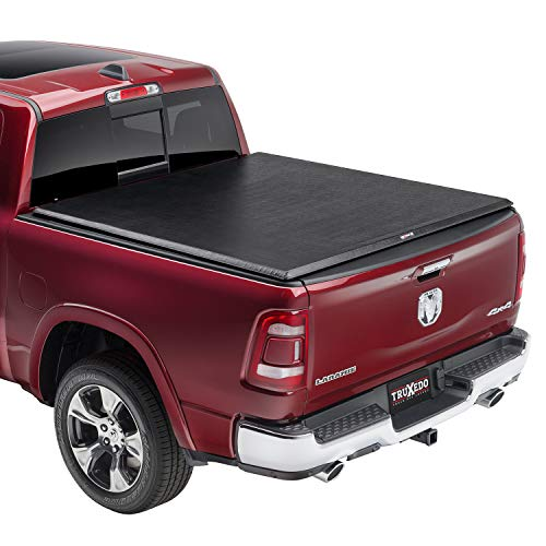 "TRUXEDO TruXport Soft Roll Up Truck Bed Tonneau Cover | 285901 | fits 2019 - 2021 Ram 1500 with or without Multi-Fucntion (Split) Tailgate 5' 7"" Bed (67.4"")"