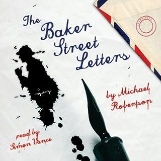 The Baker Street Letters audiobook cover art