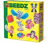SES-Creative- Beedz Teneri Animali di Perline da Stirare SES, Colore, 6256