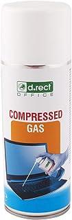 D.RECT Spray dépoussiérant matériel Informatique | 400ml | Air comprimé | Dépoussiérant en Aérosol | Spray nettoyant pour ...