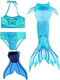 Superband Mermaid Tail Swimsuit with Monofin...