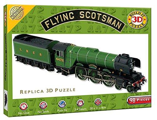 Bauen ES 3D Puzzle–Flying Scotsman
