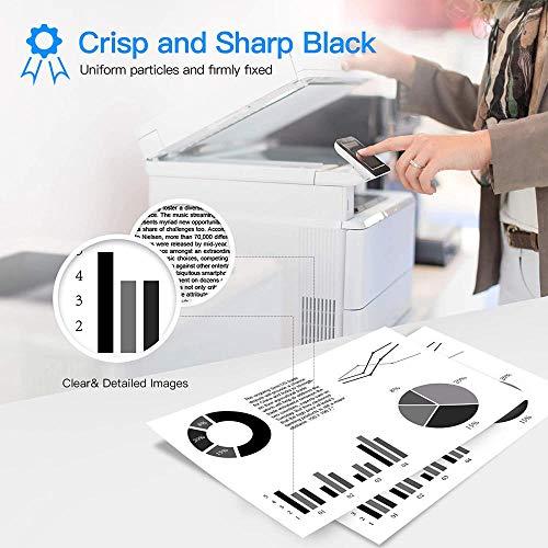 Compatible con el Cartucho de tóner HP CF287A 87A, Adecuado para HP Laserjet Enterprise M506DN M506N M506X MFP M527Z M527F M527DN M501DN Cartucho de tóner de Impresora láser-Negro