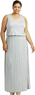 فستان طويل من سوفرا للنساء مقاس كبير