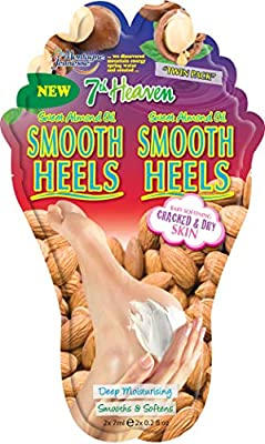 7th Heaven 'Smooth Heels' Nourishing Foot Balm with Sweet Almond Oil and Shea Butter to Deeply Moisturise, Smooth and Soften Cracked and Dry Feet from Montagne Jeunesse
