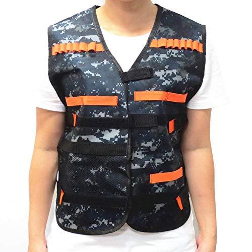 Pictury Kids Tactical Vest Kit Westenset Battle Gear Weste Jacke Weste Gaming Aceesories Geschenk für Jungen