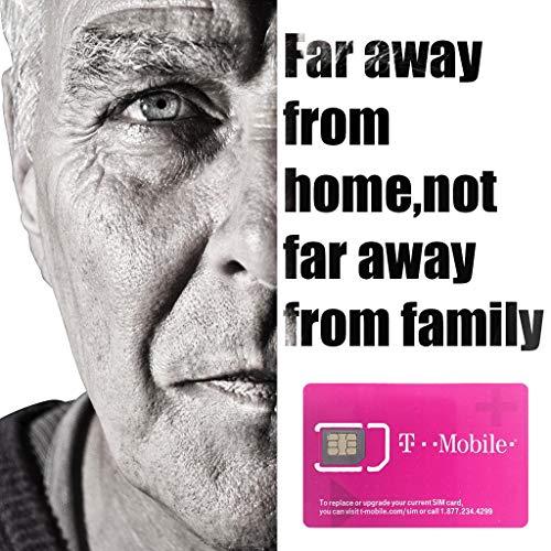 T-Mobile Usa Sim Card Dati illimitati 10 Giorni Prepagati Vero Illimitato Ad Alta Velocità Dati Chiamate Testi