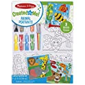 Melissa & Doug Canvas Animals Painting Set