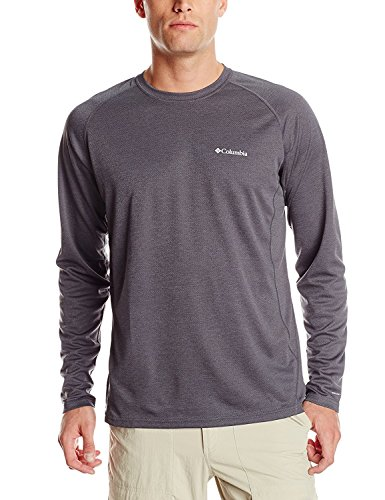 Columbia Sportswear Herren Royce Peak Langarm-Strickshirt, Tradewinds Grey, Größe S
