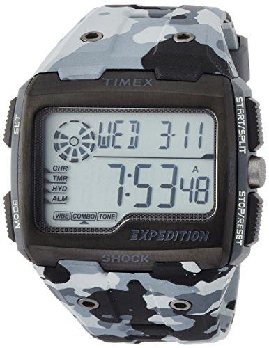 Timex Reloj Digital para Hombre de Cuarzo con Correa en Resina TW4B03000