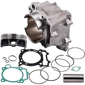 maXpeedingrods 95mm Cylinder Piston Gasket Top End Rebuild Kit for Yamaha YFZ450 2004 2005 2006 2007-2009 2012-2013 5TA-11311-12-00 99999-03528-00