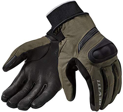 Rev It Hydra 2 H2O - Guantes de invierno para motocicleta, Verde oscuro, xx-large