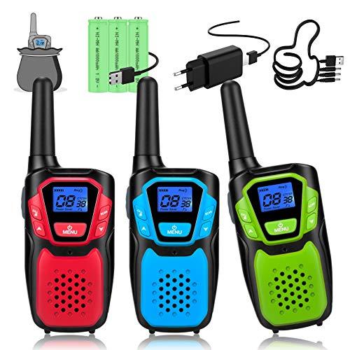 Topsung -   walkie Talkie 3er