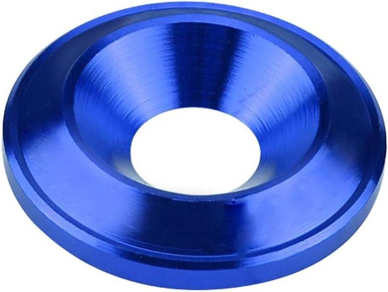 Azul Akozon Aluminio Bumper//Fender Washer Bolt Engine Bay Dress Up Kit 20 piezas
