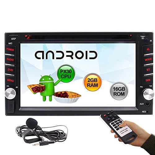 Doble DIN Android Coche de la Pantalla táctil Radio Estéreo DVD/CD de navegación GPS WiFi Bluetooth de la Ayuda Carplayer Espejo Enlace FM/Am/Entrada USB/SD/Copia de Seguridad de la cámara