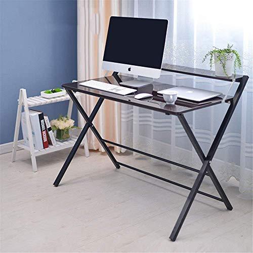 FACAZ Escritorio para computadora Soporte portátil Mesa para computadora portátil para sofá Cama Escritorio para computadora portátil Ajustable (Color: Negro, Tamaño: 100 * 51 * 70 cm)