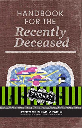 Beetlejuice: Handbook for the Recently Deceased Hardcover Ruled Journal (Journals)