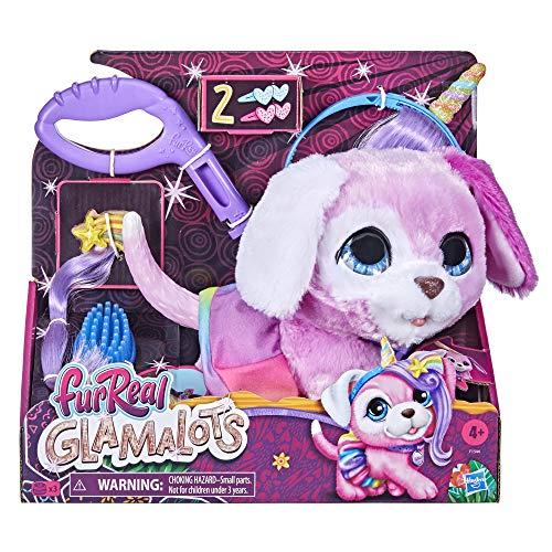 furReal Glamalots - Mascota de Juguete interactiva - 7 Accesorios - para niños y niñas de 4 años en adelante