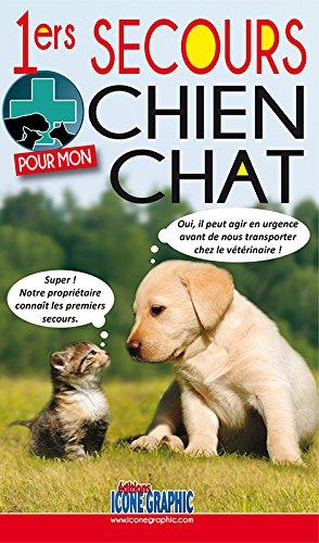 Livre Premiers secours pour mon chien/chat