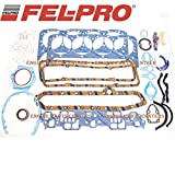 Fel Pro Gasket Set compatible with Chevy 350 1980-85 sb sbc Full Overhaul Complete 260-1045 (Full Set)