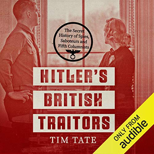 Hitler's British Traitors audiobook cover art