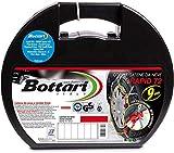 Bottari 18818 'Rapid T2': Chaines à neige 9 mm, Taille 080, Compatibles ABS et ESP