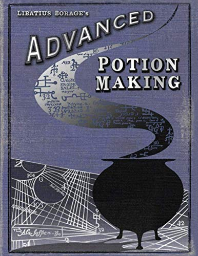 ADVANCED POTION MAKING: NOTEBOOK / DIARY / JOURNAL / HP MOVIE PROP / PRANK / HALLOWEEN / CHRISTMAS GIFT !!!