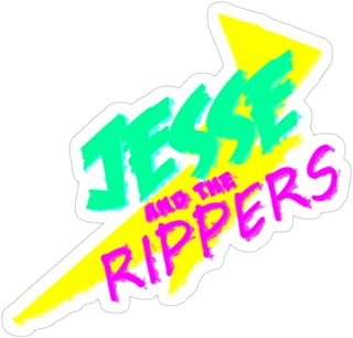 Big Lens store Jesse and The Rippers Stickers (3 Pcs/Pack)
