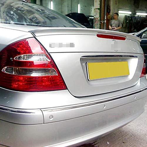 JTAccord ABS Auto Heckspoiler Standard Heckklappe Spoiler Dach Heck Heck Kofferraum Lippe Windschutzscheibe Flügel für Mercedes Benz W211 YC E Klasse E200 E260 2003-2006